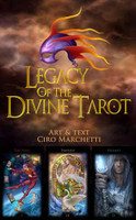 Legacy of the Divine Tarot - Box Cover + 3 cards