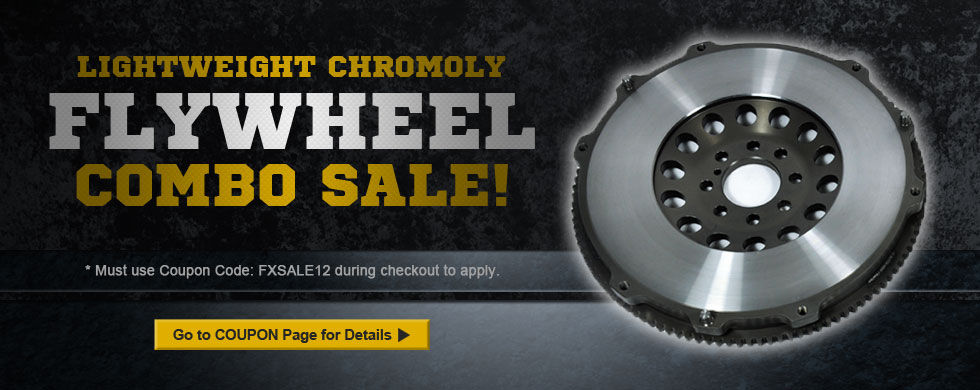 Chromoly Flywheel Combo Sale