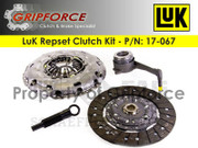 LuK OE Clutch Kit and Slave 07-09 VW Eos 2006-08 Audi A3 GTI Jetta Passat 2.0L Turbo