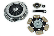 FX Xtreme 6-Puck Rigid Clutch Kit Celica Corolla Matrix MR2 Vibe Prizm 1.6L 1.8L