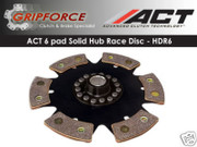 ACT Xtreme HDR6 6-Puck Rigid Clutch Disc Probe Mx6 GT RX-7 13B Evo 8 9 10 Turbo