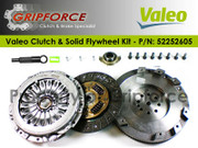Hyundai OE OEM Valeo Clutch Kit and Solid Flywheel Fits 2003-2008 Tiburon GT 2.7L V6