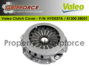 Valeo OE OEM Clutch Cover Pressure Plate Fits 96-08 Elantra Tiburon 1.8L 2.0L