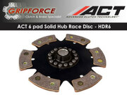 ACT Xtreme HDR6 6Pad Rigid Clutch Disc RSX Base L Type-S Civic Si 2.0L K20 Ivtec