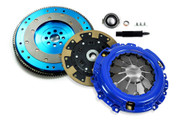 FX Racing Kevlar Clutch Kit and Aluminum Flywheel RSX Type-S Civic Si 2.0L K20 6Spd