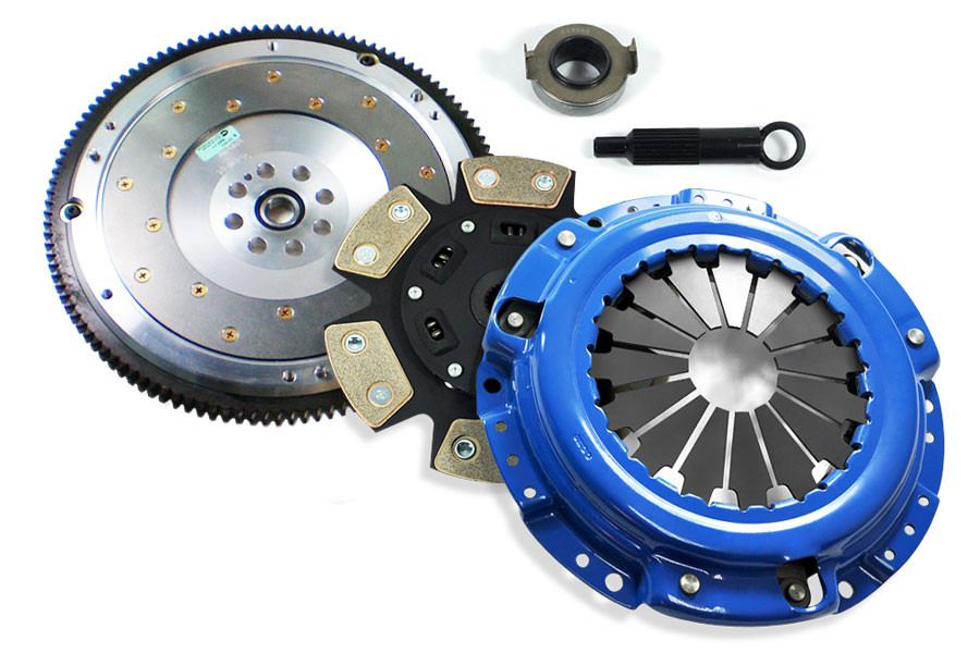 FX Racing Stage Clutch Kit And Fidanza Flywheel RSX TypeS Civic - Acura rsx type s flywheel