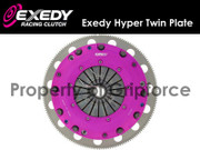 """Exedy Racing Stage 4 Hyper Twin Plate Clutch Kit 96-08 Ford Mustang GT 4.6L 281"""""""
