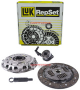 LuK Clutch Kit Repset and Slave Cyl 03-07 Saturn Ion-1 Ion-2 Ion-3 2.2L 2.4L