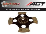 ACT Xtreme 4-Puck Rigid Clutch Disc Fits Tiburon GT Stealth Talon Eclipse Laser