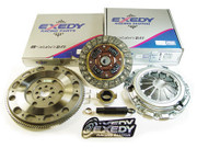 Exedy Racing Stage 1 Clutch Kit Set and Chromoly Flywheel 04-07 Ford Focus 2.0L 2.3L