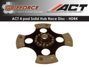 ACT Xtreme HDR4 4-Pad Solid Clutch Disc 280ZX 300Zx Maxima V6 Sentra Se-R Spec-V