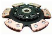 FX Racing Stage 3 Ceramic 6Puck Sprung Clutch Disc G20 200Sx Nx Sentra 1.8L 2.0L