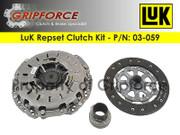 LuK OE Repset Clutch Kit 2006 BMW  330I 2006-2007 530i Except Smg Z4 3.0L I6 DOHC
