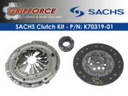 Sachs OEM 225Mm Disc Clutch Kit Set Audi TT VW Bettle Golf Jetta 1.8L Turbo 5Spd