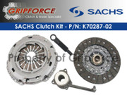 Sachs OEM Clutch Kit Set Audi TT Quattro VW Beetle Golf Jetta 1.8L Turbo 6-Speed