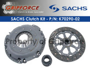 Genuine Sachs OEM Clutch Kit 2002-2005 Porsche 911 Carrera 4 4S 3.6L H6 DOHC 996