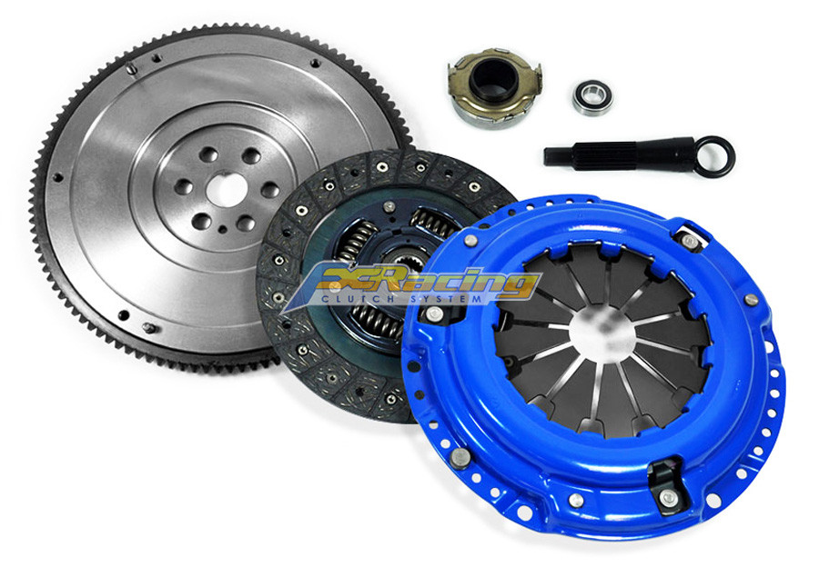 FX Racing Stage 1 Clutch Kit & HD Nodular Flywheel for Honda Civic Del Sol  1 5L 1 6L 1 7L SOHC 4cyl D15 D16 D17