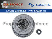 Sachs OEM Modular Clutch and Flywheel Kit 2003-2005 Dodge Neon Srt-4 Turbo 2.4L 4Cyl