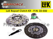 LuK OE Clutch Kit and Slave 2003 C70 2001-04 Volvo V70 T5 X/C S60 Turbo I5 2.3L 2.4L