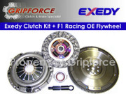 Exedy OEM Clutch Kit and FX Racing OE Flywheel 2000-2004 Nissan Frontier Xterra 2.4L