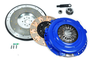 FX Multi-Friction Clutch Kit and Fidanza Flywheel 96-04 Mustang GT 4.6L Tr3650 6Bolt