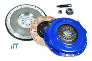 FX Multi-Friction Clutch Kit and Fidanza Flywheel Mustang GT Mach1 Cobra SVT 4.6L 8B