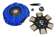 FX Racing Stage 3 Copper Ceramic Clutch Kit 1994-2004 Ford Mustang 3.8L 3.9L V6