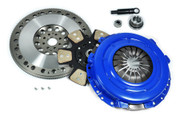 FX Racing Stage 3 Race Clutch Kit and Chromoly Flywheel Mustang GT Cobra 4.6L 8 Bolt
