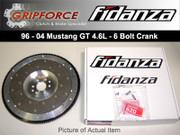 Fidanza Lightweight Aluminum Flywheel 1996-2004 Ford Mustang GT 4.6L SOHC 6 Bolt