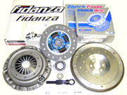 Exedy OEM Clutch Kit and Fidanza Aluminum Racing Flywheel 2001-03 Mazda Protege 2.0L