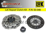 LuK OE OEM Repset Clutch Kit Set 1997-2003 BMW  540i Base Sedan 4.4L V8 DOHC E39