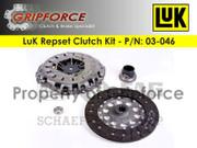 LuK OE Repset Clutch Kit Set 2001-2003 BMW  X5 3.0I Sport Utility Suv 3.0L I6 E53