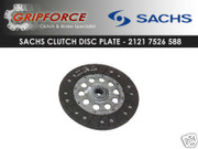 Sachs OEM Clutch Disc Plate 2001-2003 BMW 330I 330Ci 530i E39 2001-02 Z3 E46 3.0L