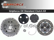 Gripforce OE Clutch Kit 1995-02 VW Cabrio 3/94-98 Golf GTI Jetta 2.0L Mk3 Petrol