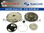Sachs OE OEM Clutch Kit Set 94-02 VW Cabrio Golf GTI Jetta Mk3 2.0L Petrol