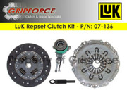 LuK OEM Clutch Kit and Slave 95-00 Ford Contour Mercury MySTIque 2000-02 Cougar 2.0L
