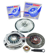 Exedy Clutch Pro-Kit & FX HD Nodular Flywheel Set for 1990-1997 Honda Accord 2.2L 2.3L SOHC F22 F23