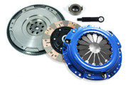 FX Dual-Friction Clutch Kit & HD Nodular Flywheel Set for Honda Accord Prelude Acura CL 2.2L 2.3L F22 F23 H22 H23