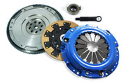 FX Kevlar Clutch Kit & HD Nodular Flywheel Set for Acura CL Honda Accord Prelude 2.2L 2.3L