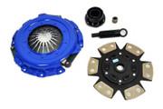 FX Stage 3 Ceramic Clutch Kit 96-01 GMC Sonoma Chevy S10 96-99 Isuzu Hombre 2.2L