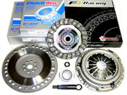 Exedy Clutch Kit & FX Racing 9.5 lbs Chromoly Flywheel 1994-2001 Integra LS GS GS-R TYPE-R B18