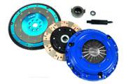 FX Multi-Friction Clutch Kit and Aluminum Flywheel CR-V B20 Integra B18 Civic Si B16