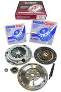 EXEDY CLUTCH KIT+HF501 RACING FLYWHEEL 92-00 HONDA CIVIC D15 D16 D17 SOHC