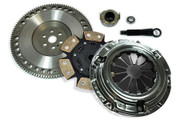 FX Xtreme Stage 4 Clutch Kit and Flywheel 1992-00 Civic 93-97 Del Sol 1.5L 1.6L Sohc