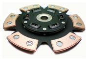 FX Stage 3 Sprung 6-Puck Clutch Disc 95-00 Ford Contour Mercury MySTIque 2.5L V6