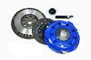 FX Racing Stage 1 Clutch Kit and Chromoly Flywheel 91-99 Saturn Sc Sl SW Series 1.9L
