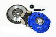 FX Racing Stage 3 Clutch Kit and Chromoly Flywheel 91-99 Saturn Sc Sl SW Series 1.9L