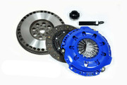 FX Stage 2 Racing Clutch Kit and Chromoly Flywheel 91-99 Saturn Sc Sl SW Series 1.9L