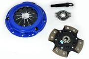 FX Racing 4 Puck Disc Stage 3 Clutch Kit Nissan 200Sx 1600 Nx Pulsar Sentra 1.6L