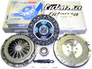 Exedy OEM Clutch Kit and Fidanza Flywheel Eclipse Talon Laser Awd 2.0L Turbo 7-Bolt